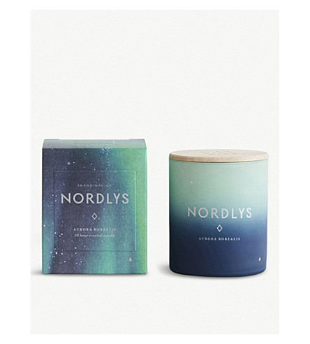 SKANDINAVISK Nordlys northern light candle