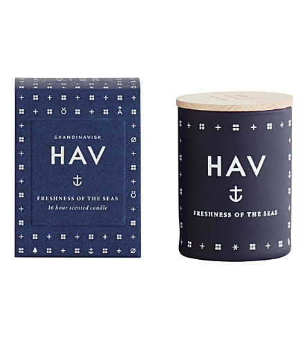 SKANDINAVISK Hav sea scented candle