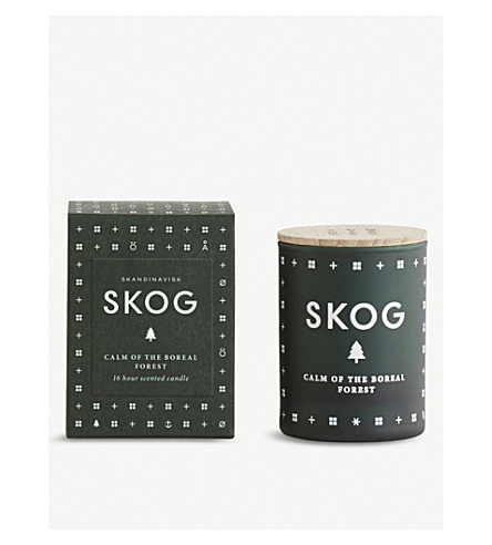 SKANDINAVISK Skog forest mini scented candle