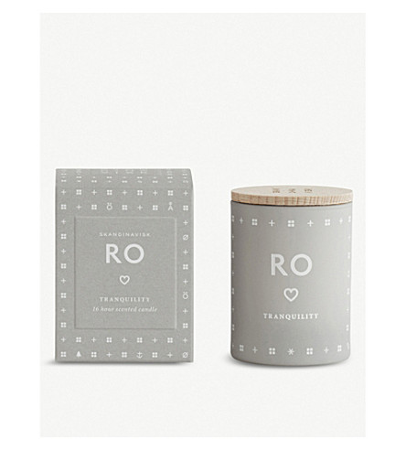 SKANDINAVISK Ro tranquility mini scented candle
