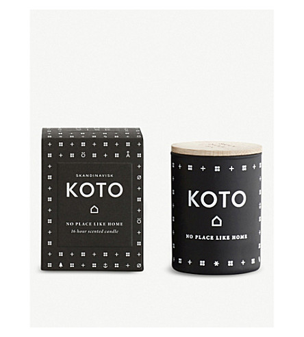 SKANDINAVISK Koto home mini scented candle