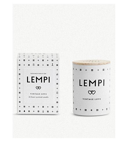 SKANDINAVISK Lempi 爱迷你香薰蜡烛