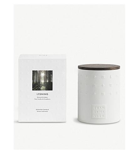 SKANDINAVISK Lysning ceramic candle 300g