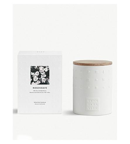 SKANDINAVISK Rosenhave 陶瓷蜡烛/盖子300g