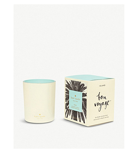 KATE SPADE NEW YORK Bon Voyage Island scented candle 142g