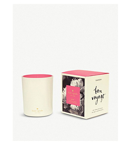 KATE SPADE NEW YORK Bon Voyage Garden scented candle 142g