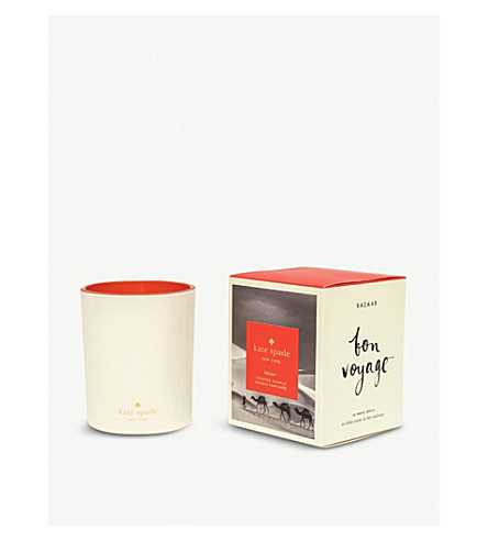 KATE SPADE NEW YORK Bon Voyage Bazaar scented candle 142g