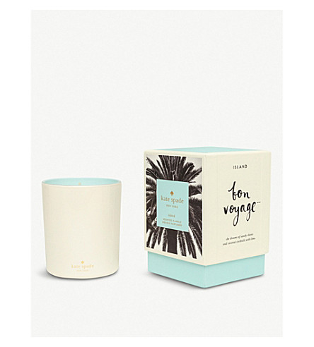 KATE SPADE NEW YORK Bon Voyage Island scented candle 284g