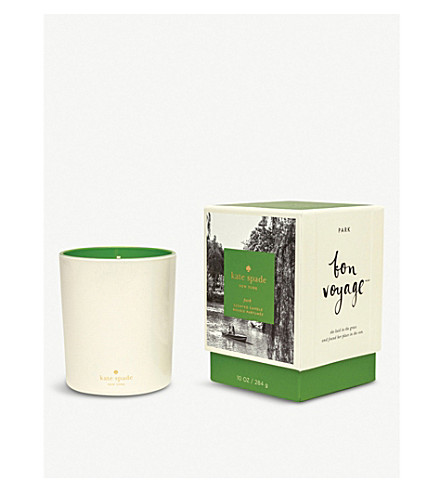 KATE SPADE NEW YORK Bon Voyage Park scented candle 284g