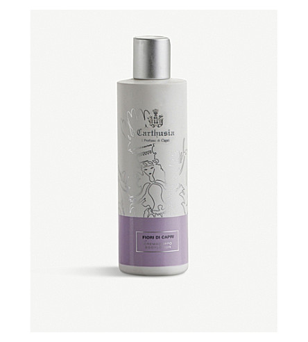 CARTHUSIA Fiori di Capri body lotion 250ml