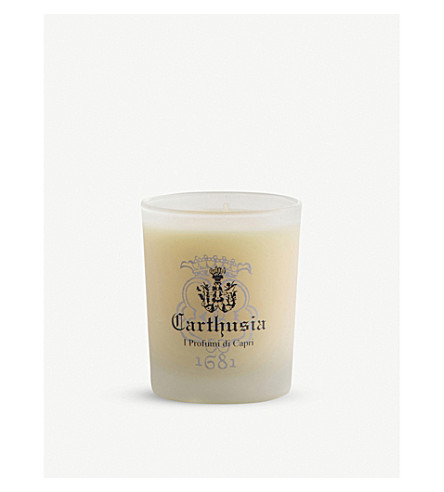CARTHUSIA Lemon scented candle 70g