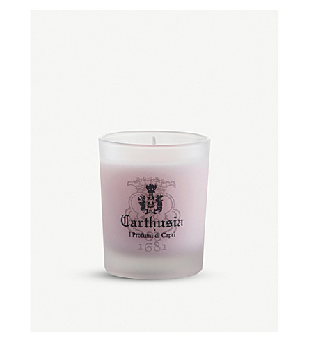 CARTHUSIA Rose scented candle 70g