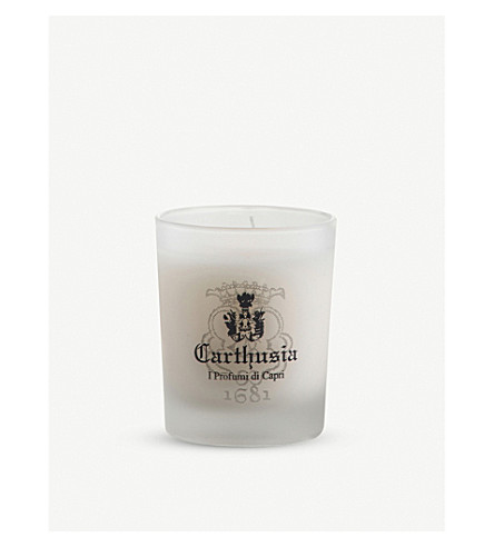 CARTHUSIA Vanilla scented candle 70g