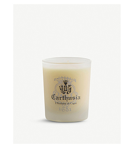 CARTHUSIA Lemon scented candle 150g