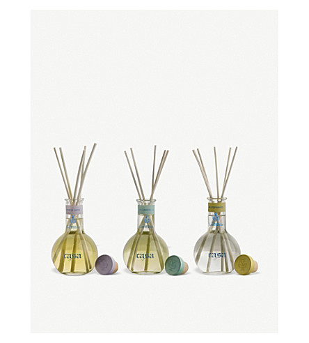 CARTHUSIA Home fragrance diffusers set of three x 100ml