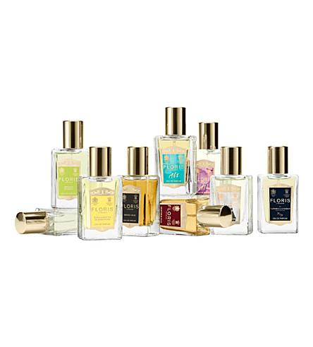 FLORIS Perfumers wardrobe 9 x 14ml eau de parfums