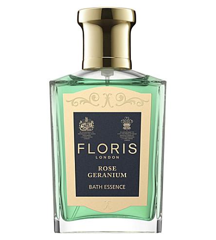 FLORIS Rose geranium bath essence 50ml