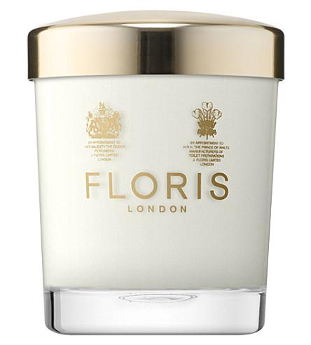 FLORIS Floris lavender & mint scented candle 175g