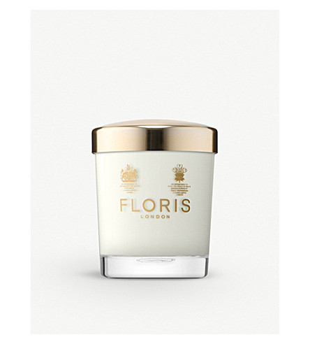FLORIS Rose and oud scented candle 175g