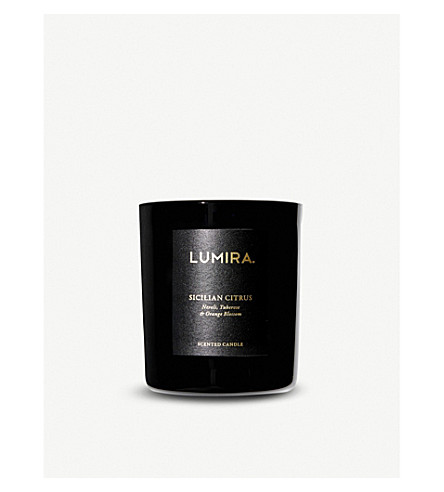 LUMIRA Sicilian Citrus scented candle 300g