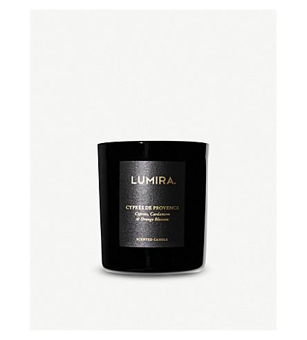 LUMIRA Cypres De Provence candle 300g