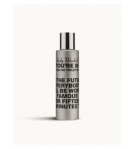 COMME DES GARCONS Andy Warhol's You're In In The Future eau de toilette 100ml