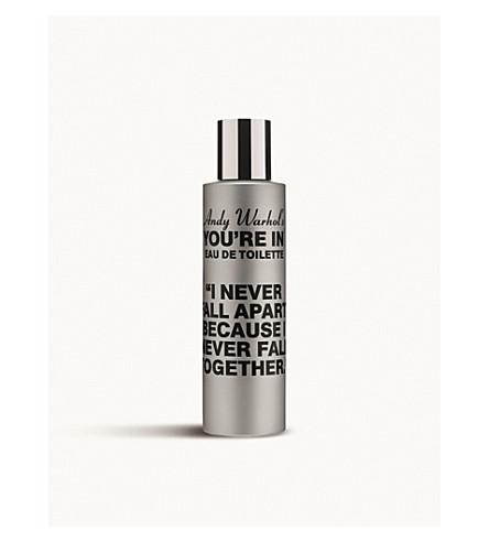 COMME DES GARCONS Andy Warhol's You're In I Never Fall Apart eau de toilette 100ml