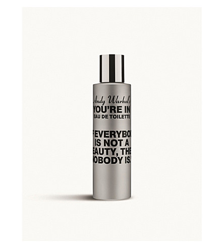 COMME DES GARCONS Andy Warhol's You're In If Everybody Is Not A Beauty eau de toilette 100ml