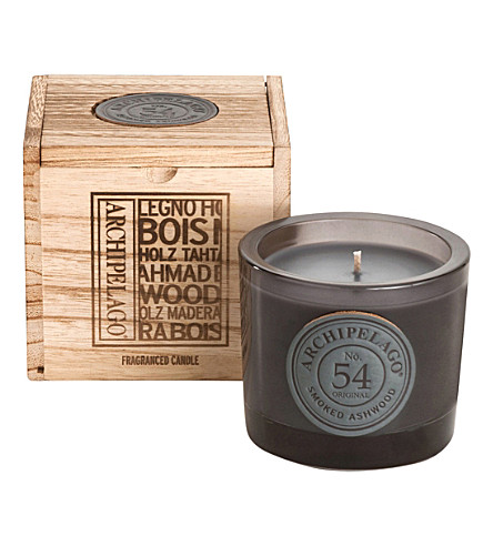 ARCHIPELAGO Smoked ashwood boxed soy candle