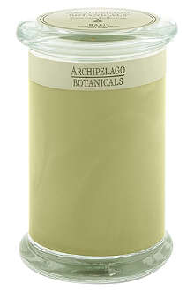 ARCHIPELAGO Bali tall glass jar candle