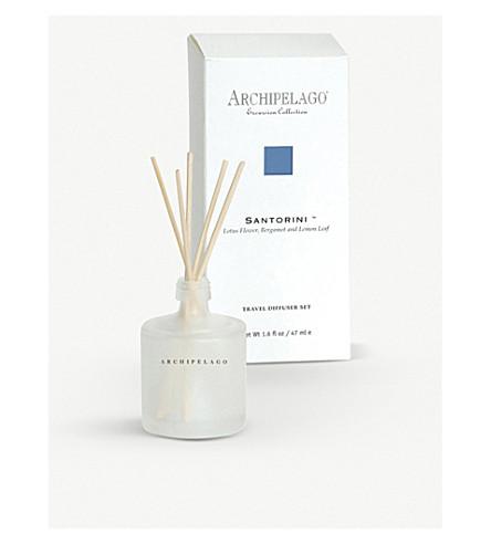 ARCHIPELAGO Santorini travel diffuser