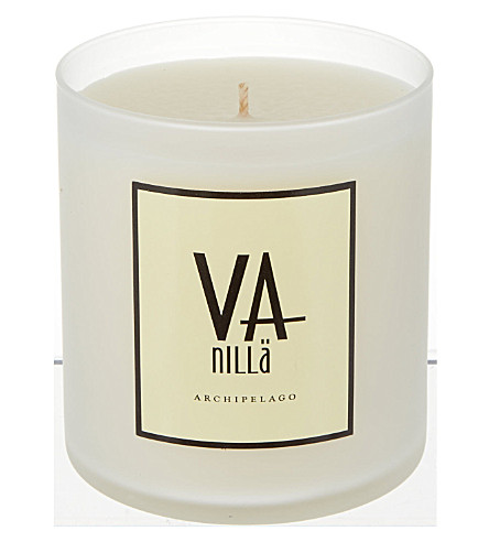 ARCHIPELAGO Vanilla and apricot scented candle