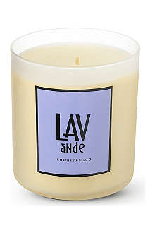 ARCHIPELAGO Lavender and thyme scented candle