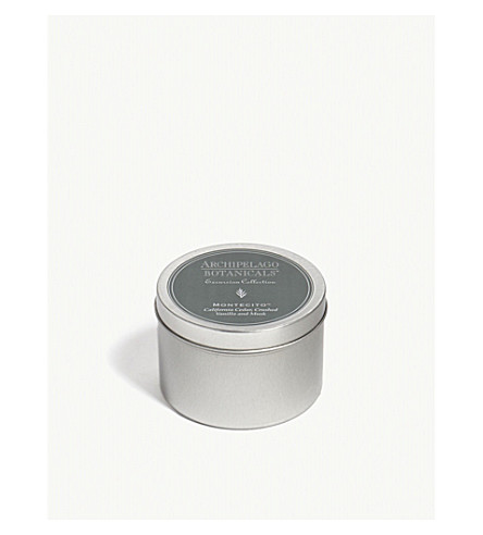 ARCHIPELAGO Montecito Excursion candle travel tin 167g