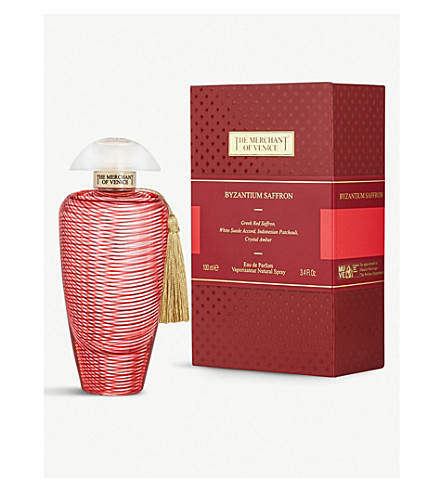 MERCHANT OF VENICE Byzantium Saffron Eau de Parfum 100ml