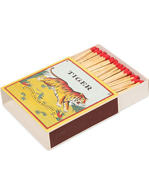 ARCHIVIST Tiger large box of matches