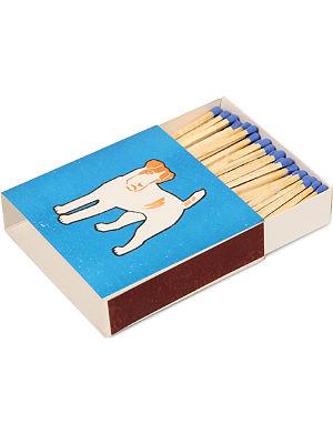 ARCHIVIST Blue Dog large box of matches
