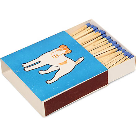 ARCHIVIST Blue Dog large box of matches