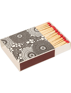ARCHIVIST Flowers large box of matches