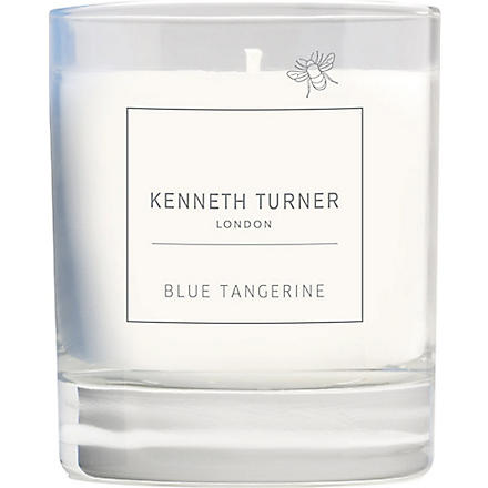 KENNETH TURNER Blue Tangerine scented candle
