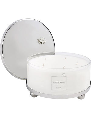 KENNETH TURNER Original scented five-wick candle with lid