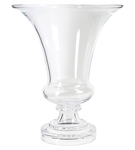 KENNETH TURNER Short stemmed vase 34cm