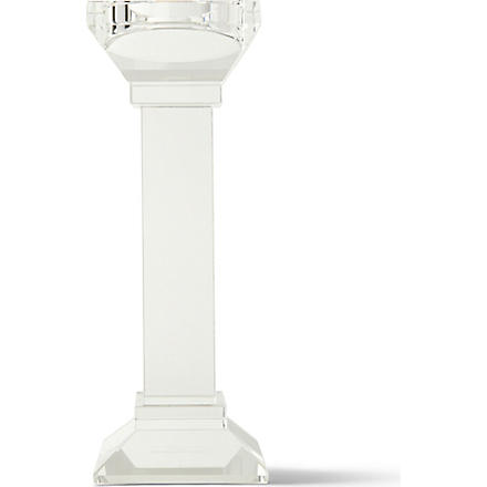 KENNETH TURNER New Roman Small Crystal Candle Holder