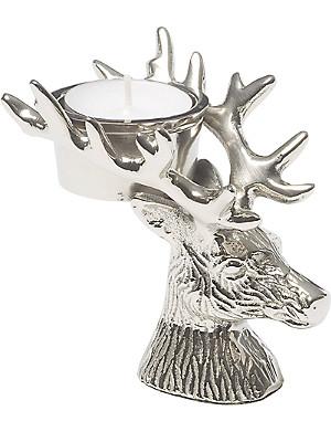 KENNETH TURNER Stag tealight holder