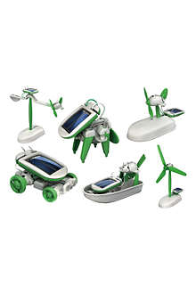 Six-in-One Solar Robot Kit