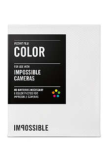 THE IMPOSSIBLE PROJECT Colour Instant Film for Impossible Cameras