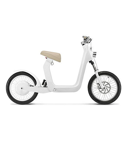 XKUTY XKuty One 30 miles autonomy fully integrated iPhone electric bike with UK vehicle registration (Cream