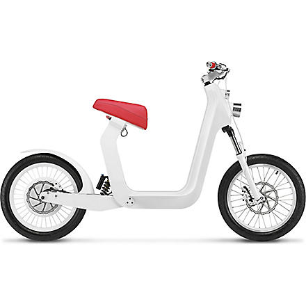 XKUTY XKuty One 30 miles autonomy fully integrated iPhone electric bike with UK vehicle registration (Red