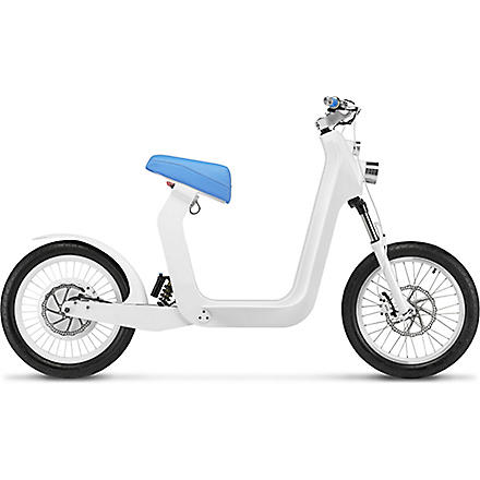 XKUTY XKuty One 60 miles autonomy fully integrated iPhone electric bike with UK vehicle registration (Blue