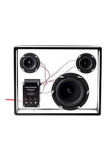 PEOPLE PEOPLE Transparent bookshelf speaker
